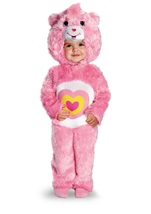 Care Bears Wonderheart Bear Deluxe Toddler Costume