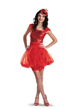 Elmo Sesame Street Woman Sequin Costume