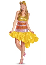 Elmo Sesame Street Women Sassy Big Bird Sequin Costume