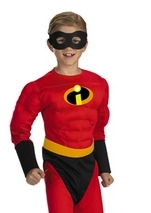 Mr Incredible Muscle Boys Costume