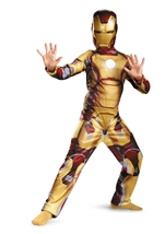 Iron Man 3 Boys Iron Man Classic Costume