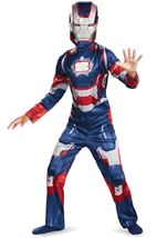 Iron Man 3 Boys Patriotic  Costume