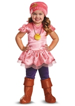 Izzy Deluxe Jake And  Neverland Pirate Girls Costume