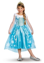 Frozen Elsa Disney Princess Girls Costume