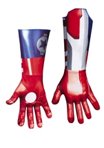 Iron Man 3 Men Patriotic Iron Man Gloves