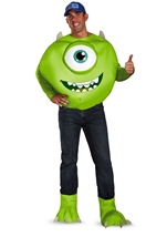 Monster University Mike Deluxe Men Costume