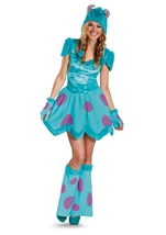 Monster University Sulley Deluxe Women Halloween Costume