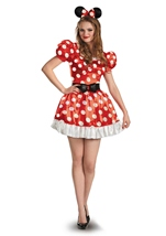 Disney Minnie Mouse Red Classic Woman Costume