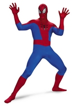 Spiderman Theater Quality Deluxe Men Bodysuit Costume