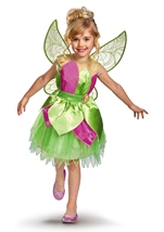 Tinker Bell Disney Girls Fairy Costume