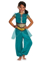 Jasmine Sparkle Classic Disney Princess Girls Costume