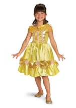 Belle Sparkle Classic Disney Princess Girl Costume