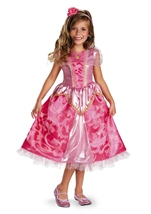 Aurora Sparkle Disney Princess Deluxe Girl Costume