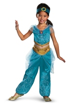 Jasmine Sparkle Deluxe Disney Princess Girls Costume