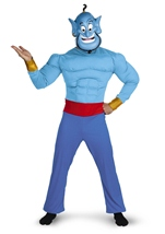 Deluxe Genie Arabian Night Men Costume