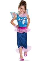 Winx Club Bloom Mermaid Classic Girls Costume