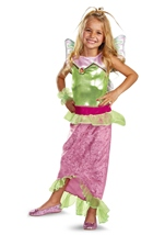 Winx Club Flora Mermaid Girls Costume