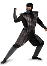 Night Fury Men Black Evil Ninja Classic Costume