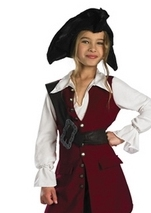 Girls Elizabeth Pirate Costume
