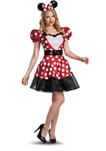 Disney Red Glam Minnie Woman Costume