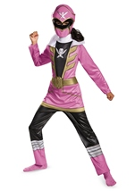 Power Rangers Pink Ranger Super Megaforce Classic Girls Costume