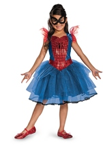 Amazing Spider Girl Tutu Dress Prestige Girls Costume