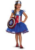 Marvel Girls American Dream Tutu Prestige Girls Costume