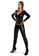 Black Widow Bustier Sexy Woman Super Hero Costume
