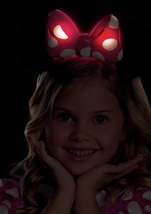 Disney Pink Minnie Mouse Light-Up Motion Activated Toddler Halloween Costume