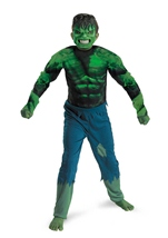 Hulk Boys Marvel Costume