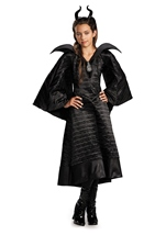 Disney Maleficent Christening Black Gown Deluxe Girls Costume