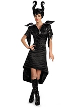 Disney Maleficent Christening Black Gown Glam Deluxe Woman Costume