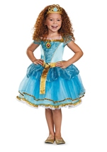 Disney Pixar Brave Merida Tutu Dress Prestige Girls Costume