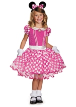 Disney Pink Minnie Girls Costume