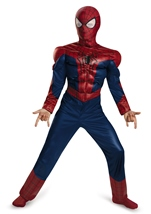 Amazing Spider Man Movie 2 Muscle Boys Costume