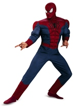 Amazing Spider Man Movie 2 Classic Muscle Mens Costume