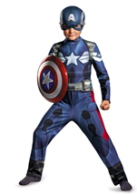 Marvel Captain America Movie 2 Classic Boys Costume