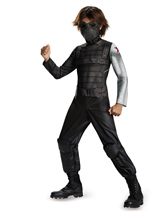 Kids Captain America Winter Soldier Boys Costume