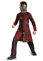 Guardians Of Galaxy Star Lord Classic Boys Costume