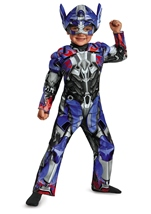 Transformers Age Of Extinction Optimus Prime Boys Toddler Muscle Costume