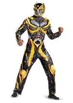 Bumblebee Deluxe Adult Men Transformers Costumes