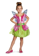 Disney Fairy Tikerbell Girls Costume