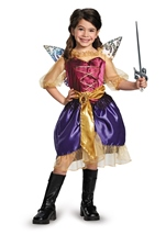 Disney Pirate Fairy Zarina Girls Costume