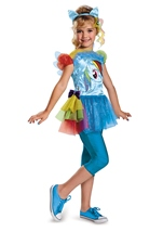 Rainbow Dash Girls Costume