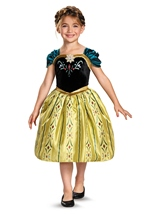 Disney Frozen Anna Coronation Gown Classic Girls Costume
