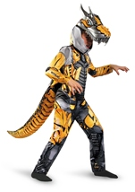 Grimlock Transformers Boys Deluxe Halloween Costume