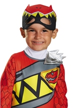 Red Power Ranger Dino Charge  Halloween Costume