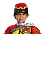 Red Power Ranger Dino Charge Muscle Halloween Costume