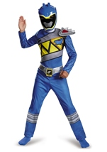 Blue Power Ranger Dino Charge  Boys Costume