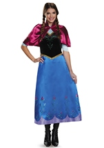 Anna Travelling Frozen Woman Deluxe Halloween Costume